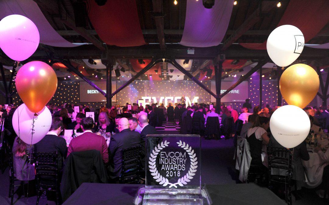 EVCOM London Live Awards Shortlist Revealed