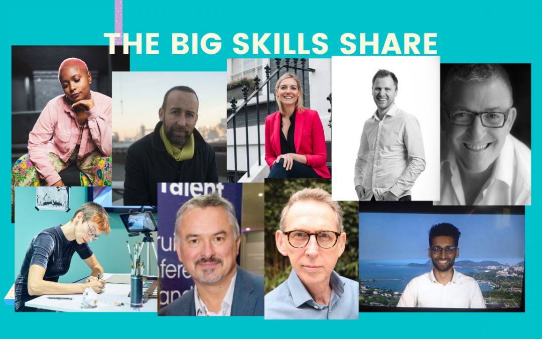 The Big Skills Share: Full Programme Announcement