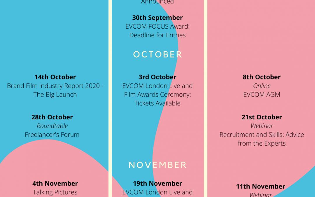EVCOM Announce Q4 Calendar