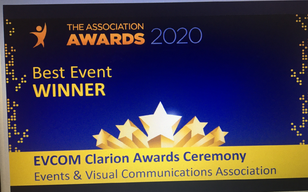 EVCOM win at the Association Awards