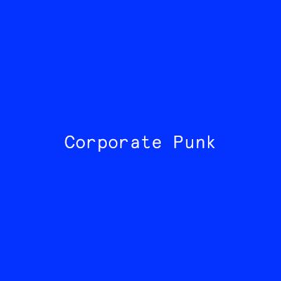 Corporate Punk