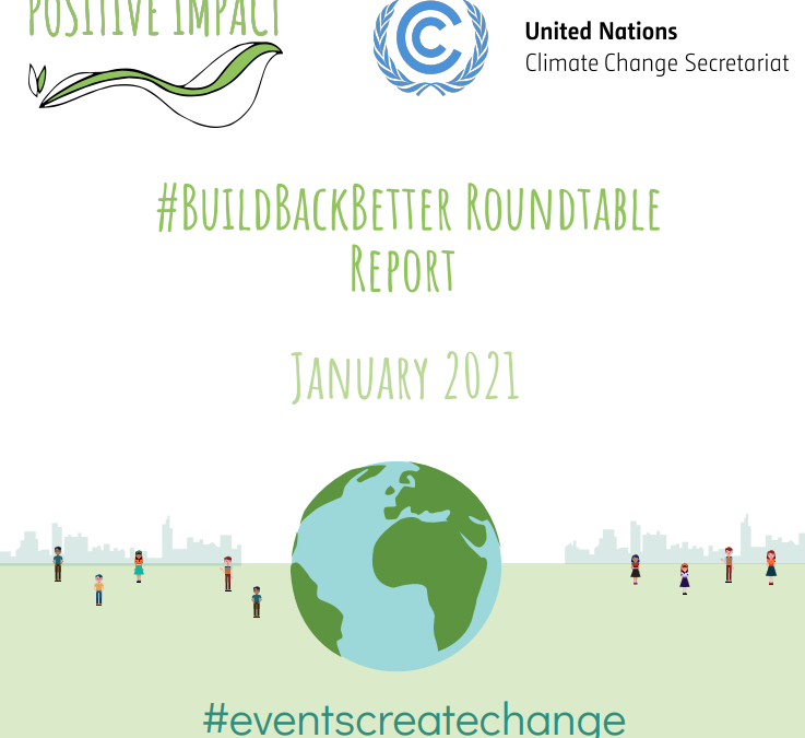 #BuildBackBetter Roundtable Report