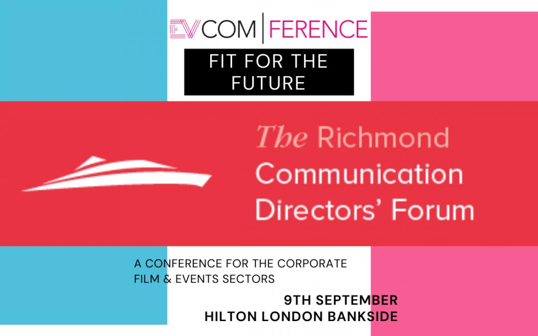 EVCOMference's Headline Sponsor Announced