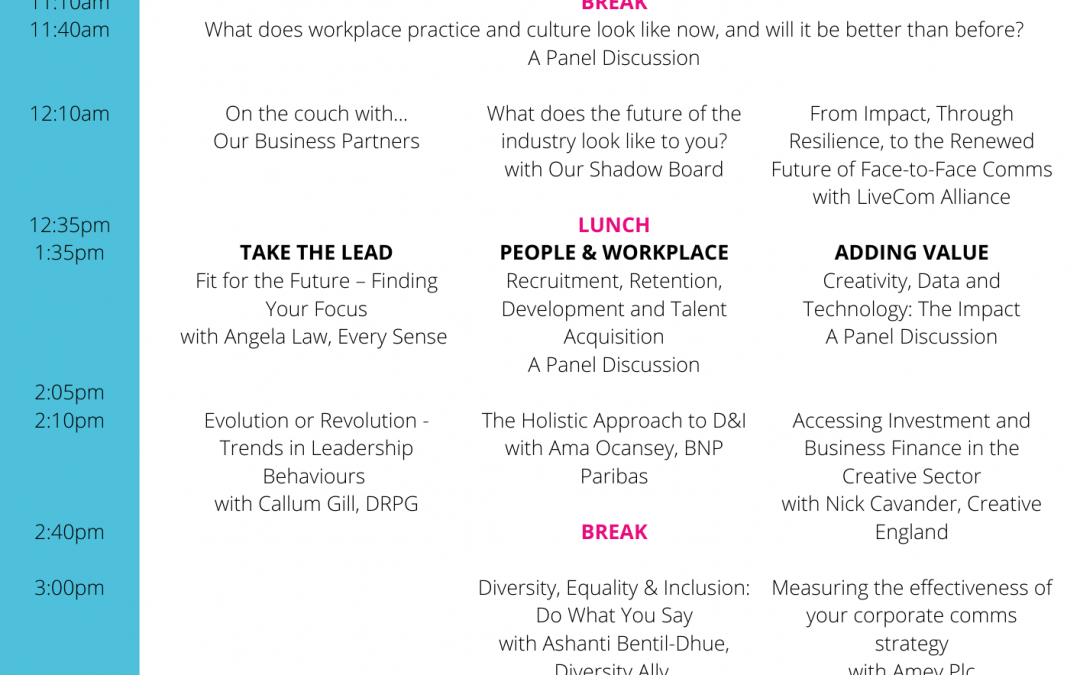 EVCOMference Announces Full Programme